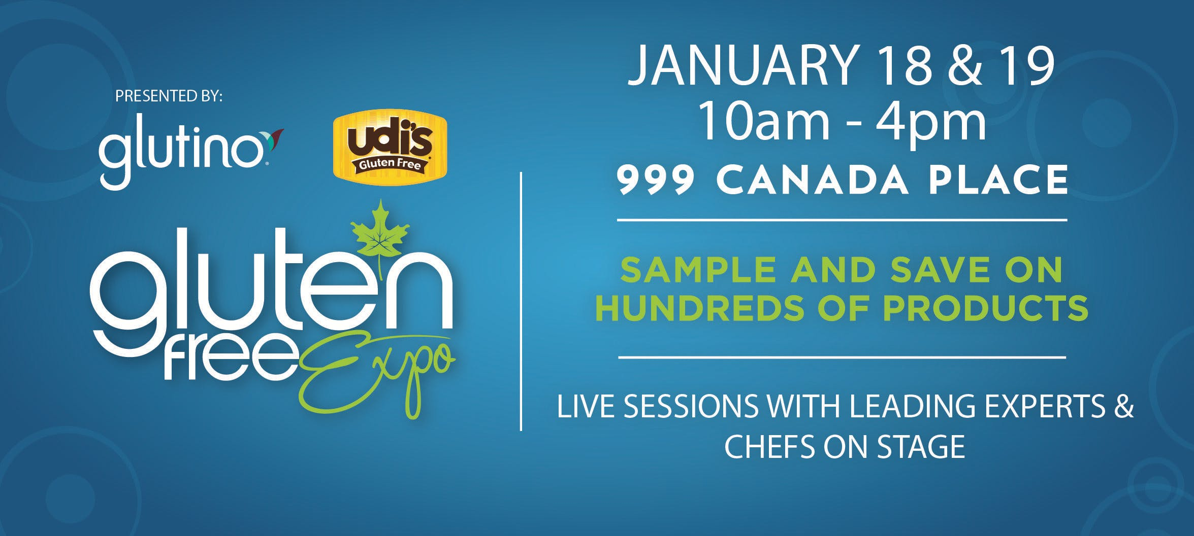 Canadas Largest Gluten Free Event Visits Vancouver January 18-19 2020