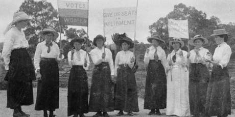 Strenuous Work: the campaign for women's suffrage tickets