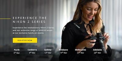 Experience the new Nikon Z Series: Adelaide