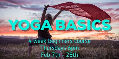 YOGA BASICS: 4 week beginners course