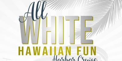 Charleston Harbor Cruise All White Hawaiian Fun