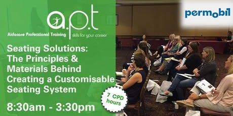 Adelaide APT Seminar: Seating Solutions: The Principles & Materials Behind Creating a Customisable Seating System tickets