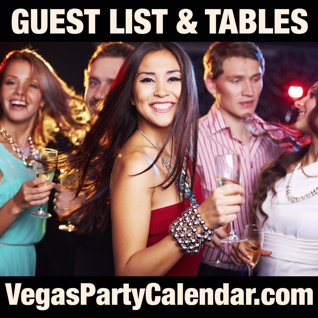 KAOS Vegas Nightclub @ Palms - Guest List & B