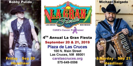 4th Annual La Gran Fiesta 2019 tickets
