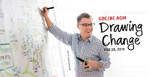 GDC/BC AGM + Sam Bradd … Drawing Change!