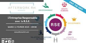 AfterWork RH Bordeaux : la RSE, ou l'Entreprise...