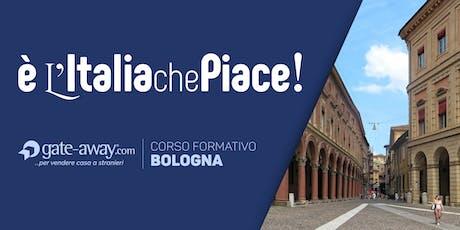 Strategie web efficaci per pubblicizzare e vendere i tuoi immobili italiani nel mondo - BOLOGNA biglietti