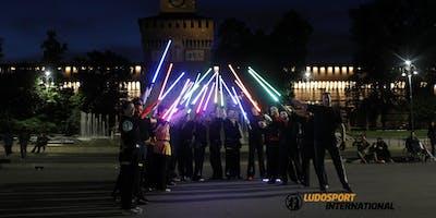 Inaugurazione nuovi corsi di Spada Laser. Allena agilità e riflessi, combatti divertendoti con LudoSport.