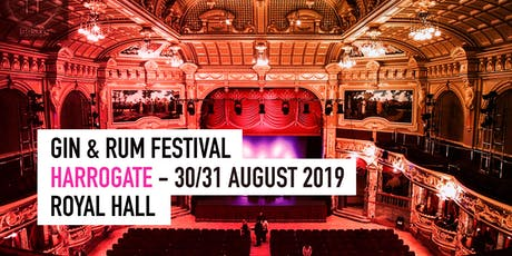The Gin & Rum Festival - Harrogate - 2019 tickets