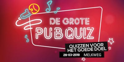 De Grote Pubquiz in Amsterdam - Quizzen voor het Goede Doel 2019