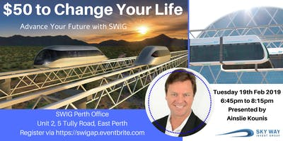 SKYWAY  - $50 to Change Your Life ~ A Very Clever Idea