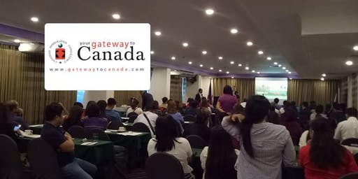 Study Work and Live in Canada Information Seminar (Lipa City)