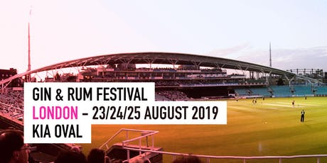 The Gin & Rum Festival - London - 2019 tickets