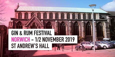 The Gin & Rum Festival - Norwich - 2019 tickets