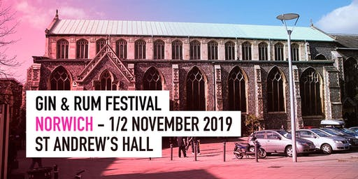 The Gin & Rum Festival - Norwich - 2019