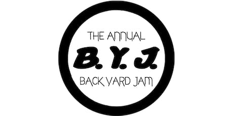 All WHITE BYJ 2019 (BACK YARD JAM) #Food #Drinks #Soca #Trap #Dancehall #Top40 tickets
