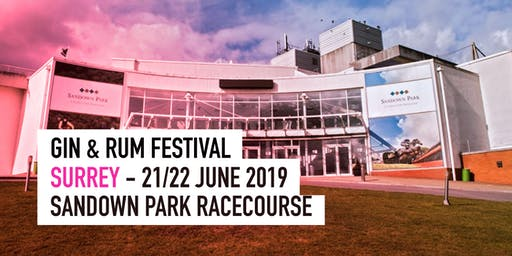 The Gin & Rum Festival - Surrey - 2019