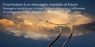 Il curriculum è un messaggio mandato al futuro
