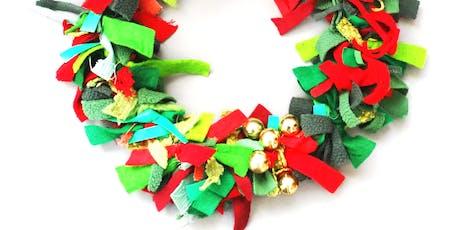 Christmas Fabric Wreaths with Agnis Smallwood tickets