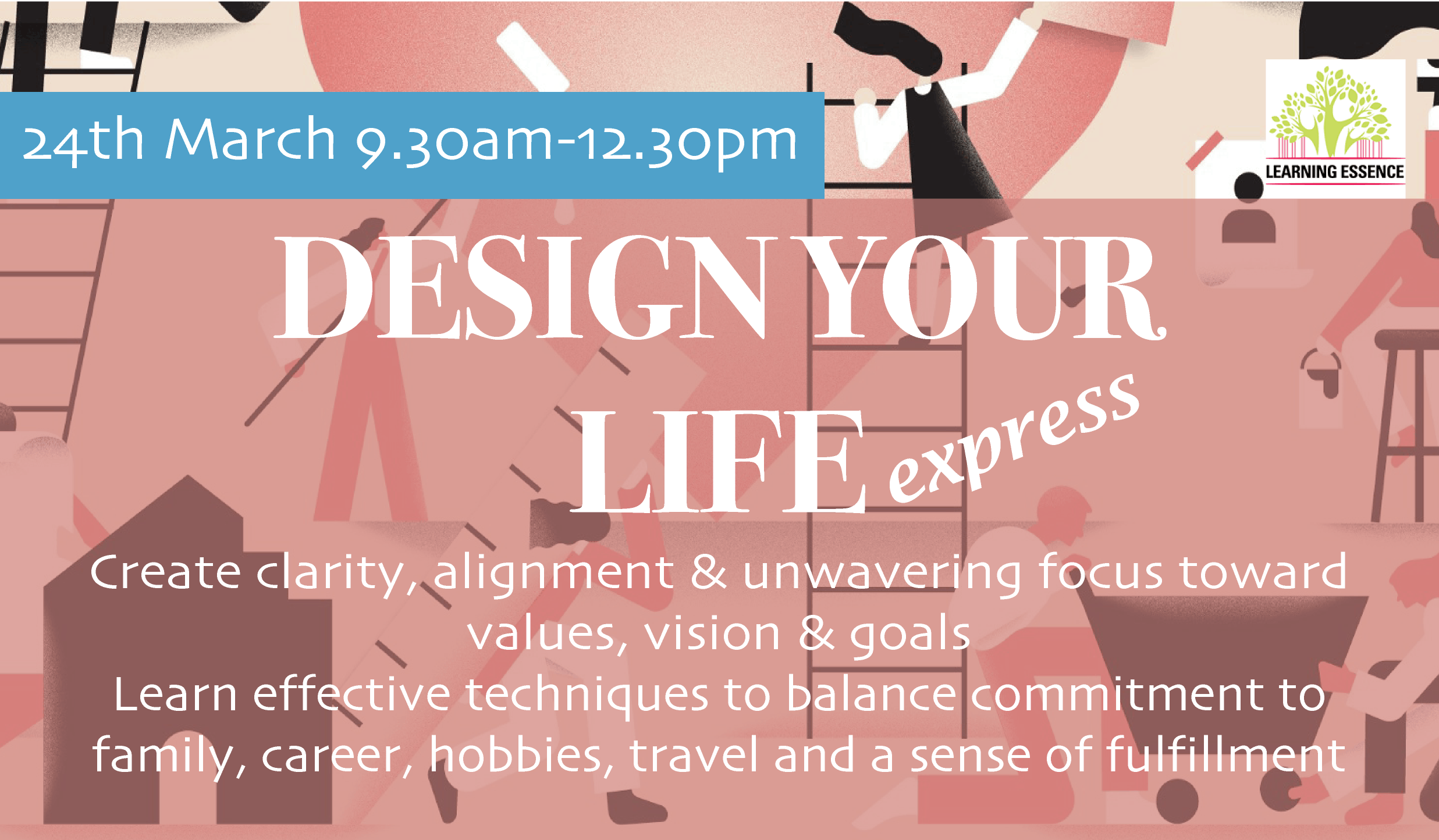 """""""Design Your Life Express"""" Playshop for Adult"""