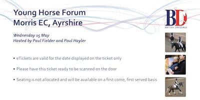 Young Horse Forum - Morris Equestrian