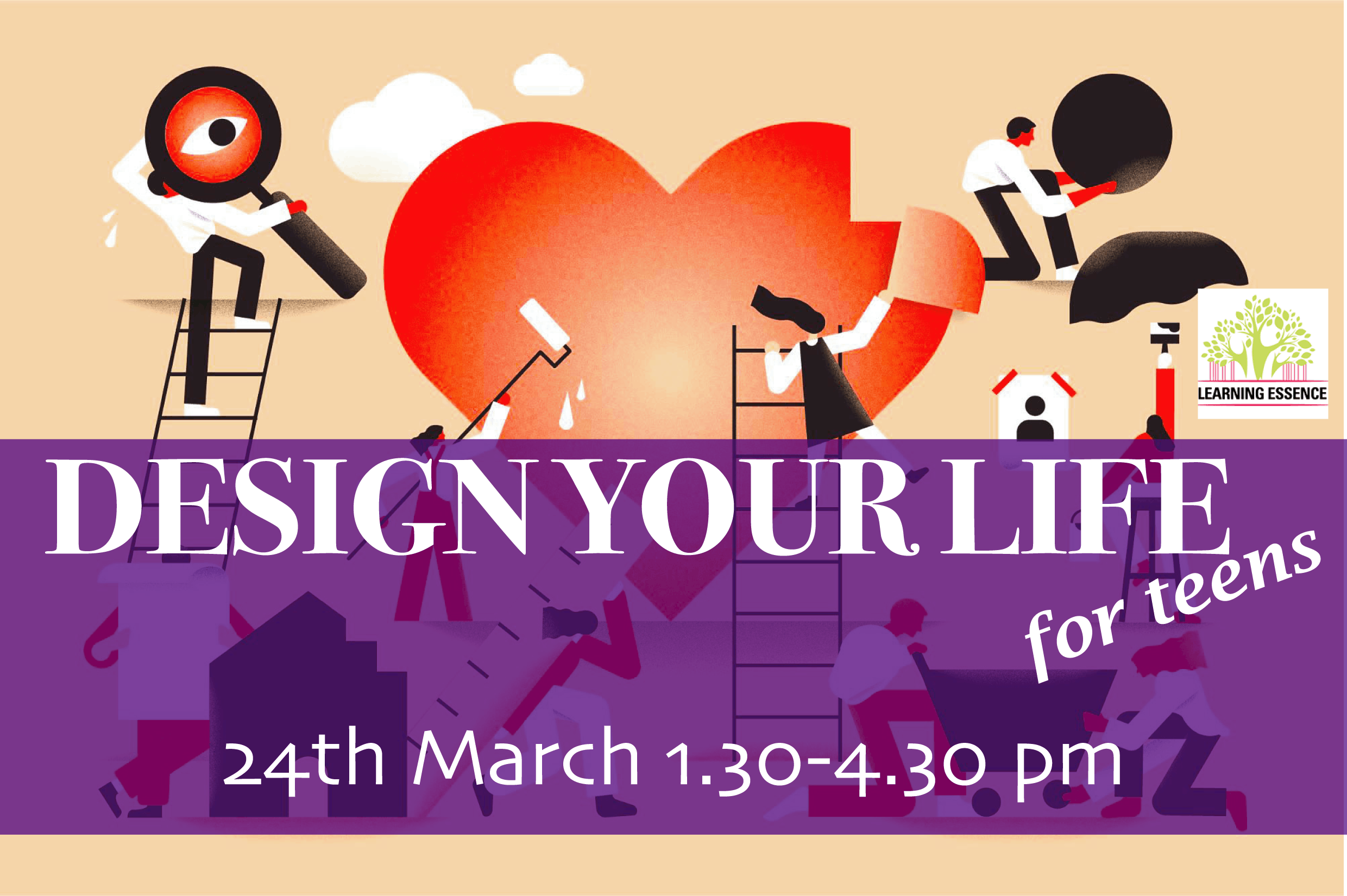 """Design Your Life"" Playshop for Teens"