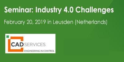 Seminar 20 februari 2019: Samen op weg naar Industrie 4.0