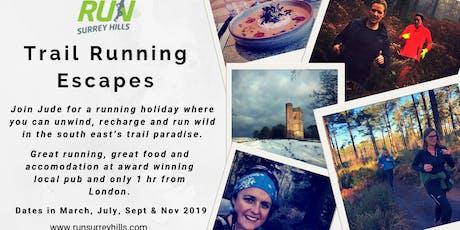 Trail Running Escape tickets