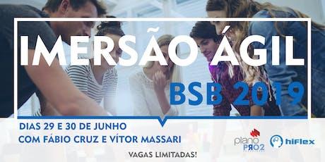 Imersão Ágil - Brasília 2019 ingressos