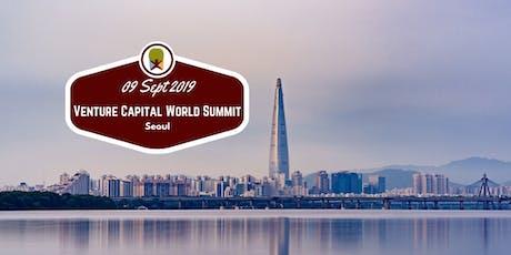 Seoul 2019 Venture Capital World Summit tickets