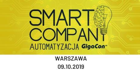 Smart Company - Automatyzacja GigaCon tickets