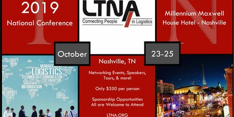 LTNA 2019 National Conference tickets