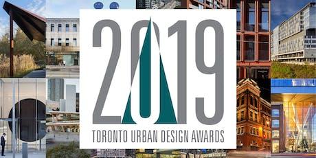 2019 Toronto Urban Design Awards tickets