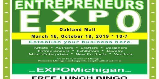 Entrepreneurs EXPO at Oakland Mall-center hall, Troy, MI, October 19, 2019  (theresa)