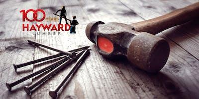 Hayward Lumber 100 Year VENDOR REGISTRATION