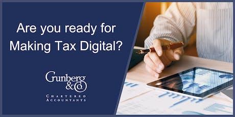 Making Tax Digital Workshops tickets