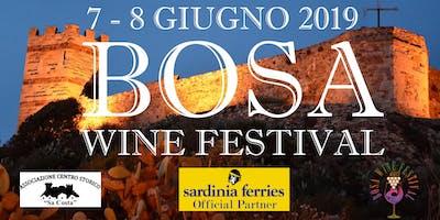 Bosa Wine Festival VI^ edizione, 7 - 8  giugno 2019
