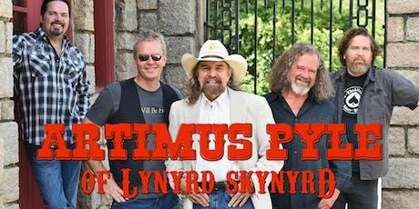 Artimus Pyle of Lynyrd Skynyrd tickets