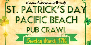 PACIFIC BEACH ST PATRICK'S DAY PUB CRAWL