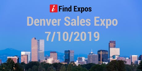 Denver Sales Expo tickets