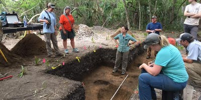Archaeology Dig at Pockoy Island Shell Ring