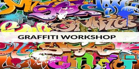 Graffiti - Workshop ingressos