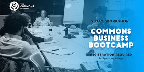 Commons Business Bootcamp tickets