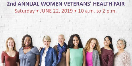"""2nd Annual Women Veterans' Health Fair """"Innovative Care for Exceptional Women"""" tickets"""