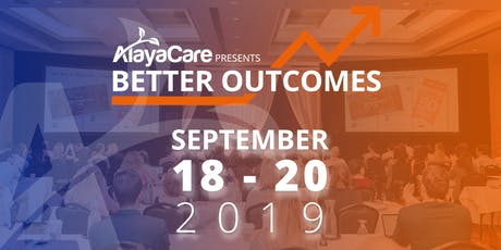 Better Outcomes 2019 tickets