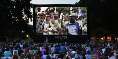 Monty Python and the Holy Grail Outdoor Cinema at Chirk Castle