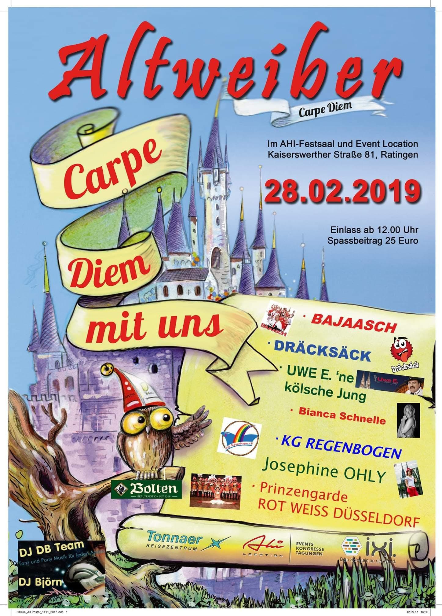 Weiberfastnacht Mit Dj Duse Duisburg 28 02 19 Evensi