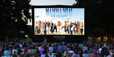 Mamma Mia Here We Go Again Outdoor Cinema Experience in Sittingbourne