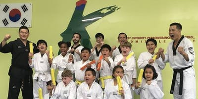 KMartial Arts Asian Cultural Center Taekwondo Classes! Register for an introductory class!
