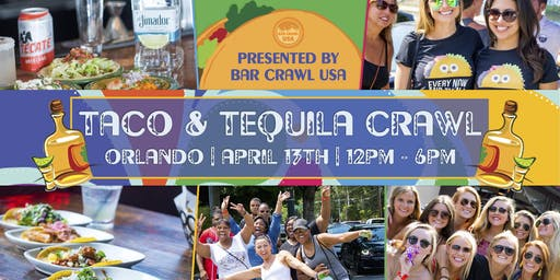 Taco Tequila Crawl Orlando
